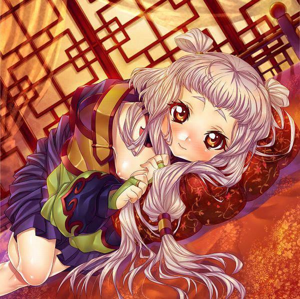 【コードギアス】天子(Empress Tianzi)のエロ画像【1】