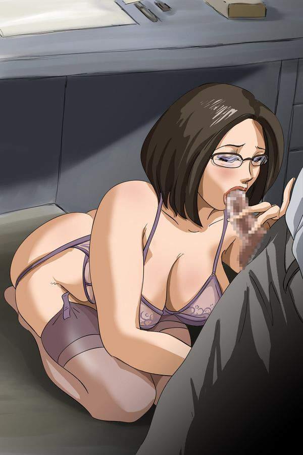 【敬老の日だから】メガネ熟女・BBAの二次エロ画像【27】