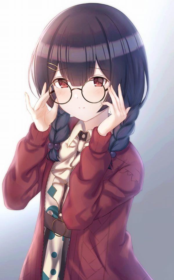 【地味子】黒髪三つ編みメガネな昭和の香り漂う女子の二次エロ画像【30】