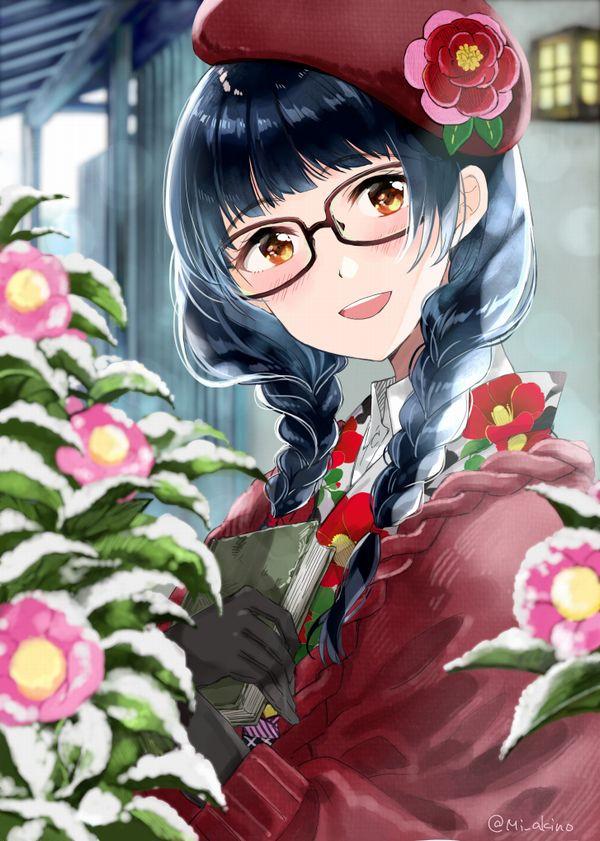 【地味子】黒髪三つ編みメガネな昭和の香り漂う女子の二次エロ画像【35】