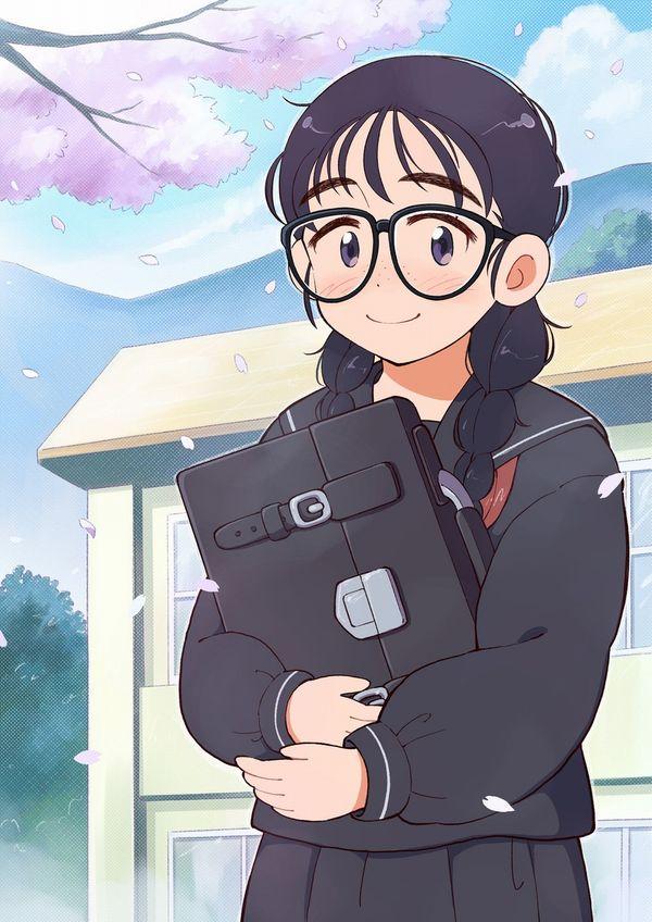 【地味子】黒髪三つ編みメガネな昭和の香り漂う女子の二次エロ画像【37】