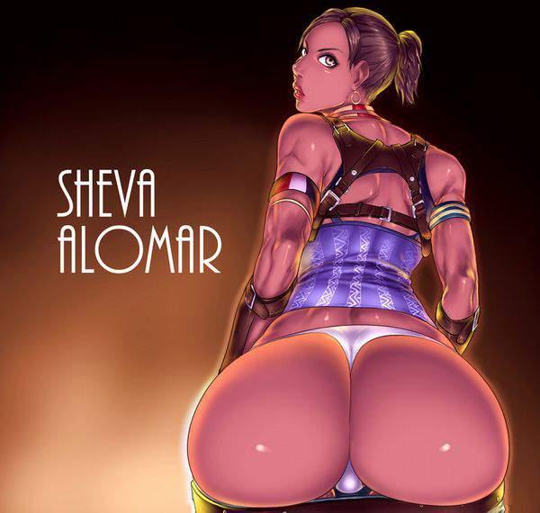 【バイオハザード】シェバ・アローマ(Sheva Alomar)のエロ画像【33】