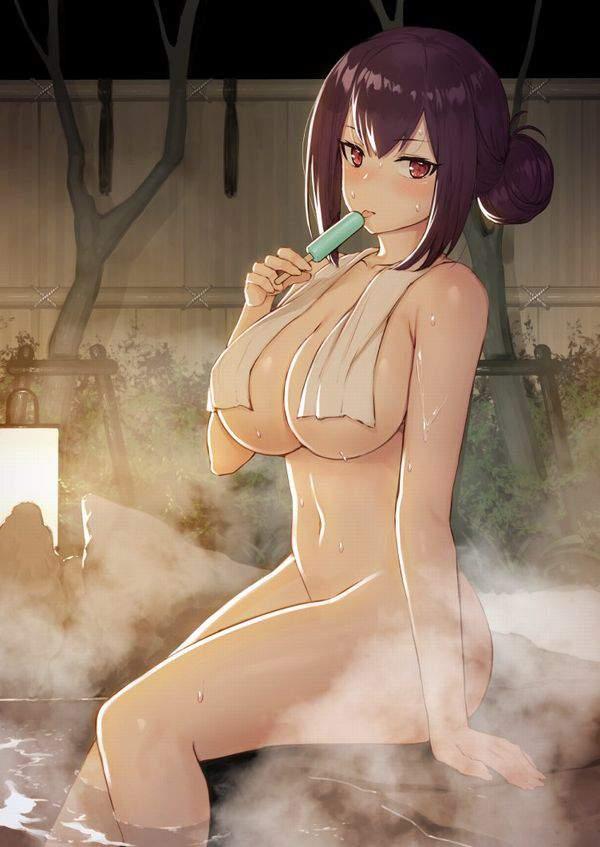【中身はおっさん】タオルを首にかけた全裸女子の二次エロ画像【35】