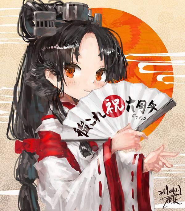 【平野ノラ!?】広げた扇子を手にポーズを取る女子達の二次エロ画像【32】