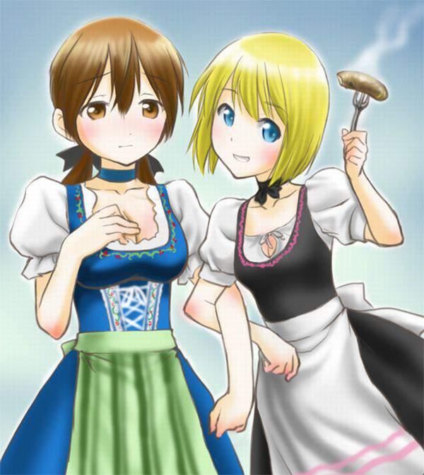 【ビールとソーセージ】なんとなくドイツっぽい二次エロ画像【14】