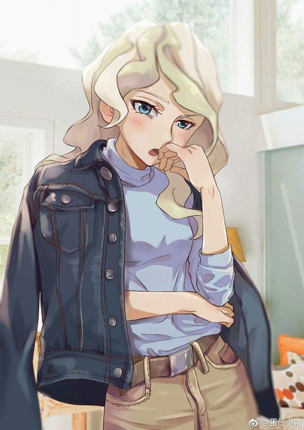 【リトルウィッチアカデミア】ダイアナ・キャベンディッシュ(Diana Cavendish)のエロ画像【17】