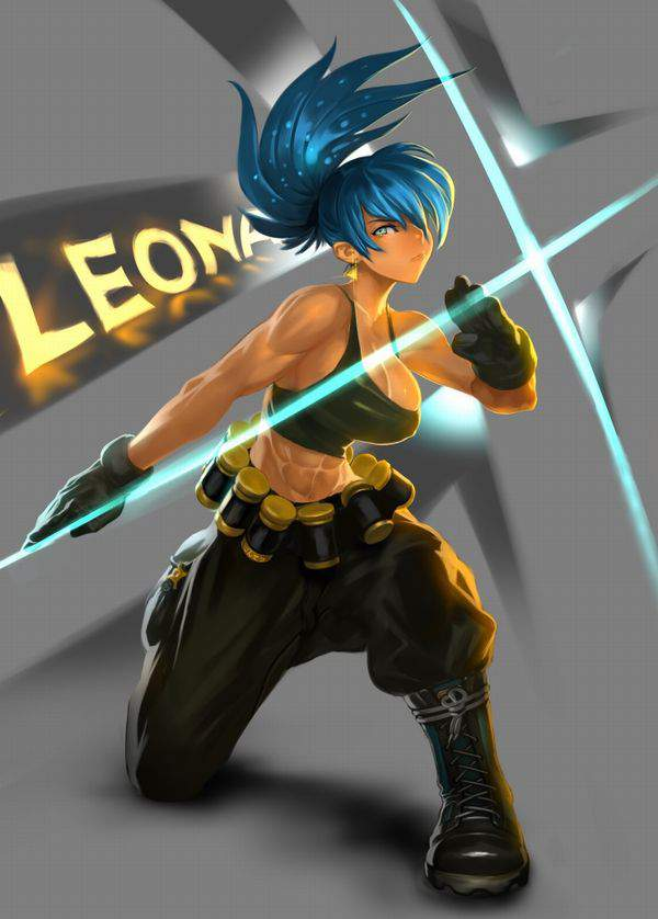 【KOF】レオナ・ハイデルン(Leona Heidern)のエロ画像【THE KING OF FIGHTERS】【19】