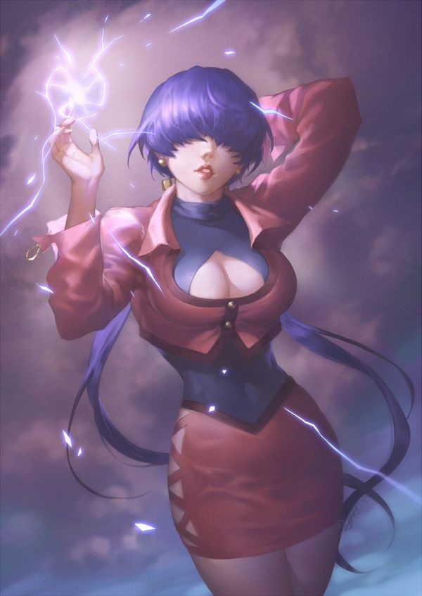 【KOF】シェルミー(Shermie)のエロ画像【THE KING OF FIGHTERS】【12】