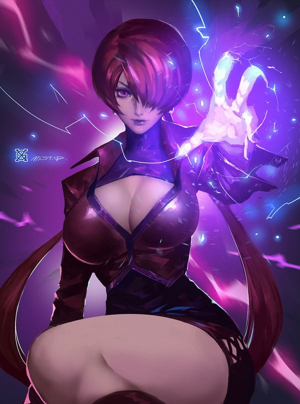 【KOF】シェルミー(Shermie)のエロ画像【THE KING OF FIGHTERS】【21】