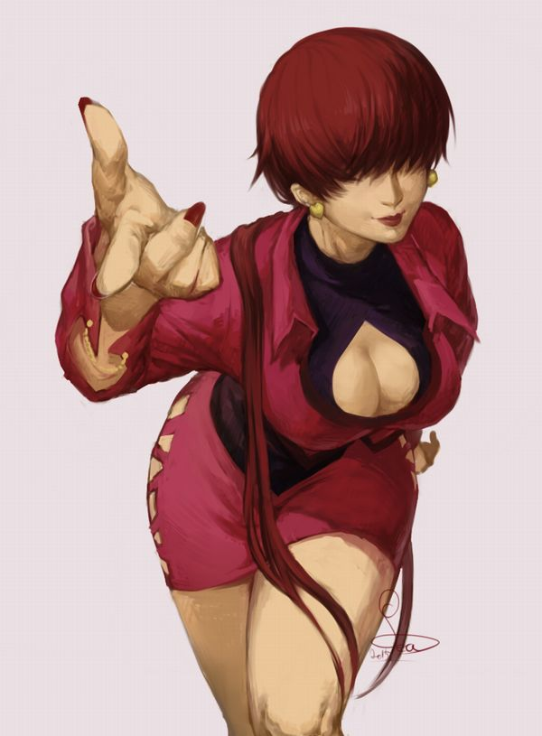 【KOF】シェルミー(Shermie)のエロ画像【THE KING OF FIGHTERS】【44】
