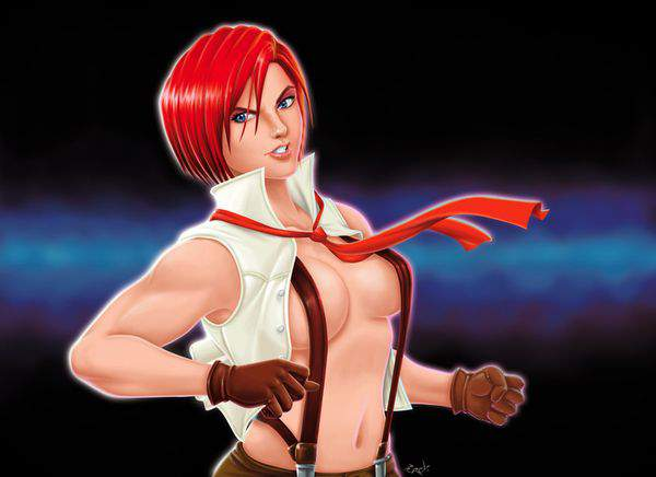 【KOF】ヴァネッサ(Vanessa)のエロ画像【THE KING OF FIGHTERS】【45】