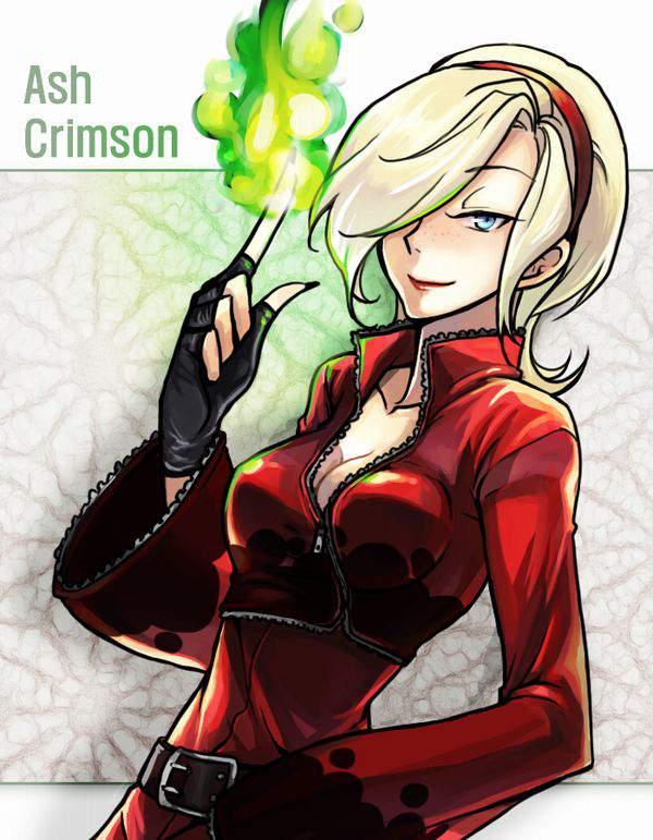 【KOF】アッシュ・クリムゾン(Ash Crimson)のエロ画像【THE KING OF FIGHTERS】【22】