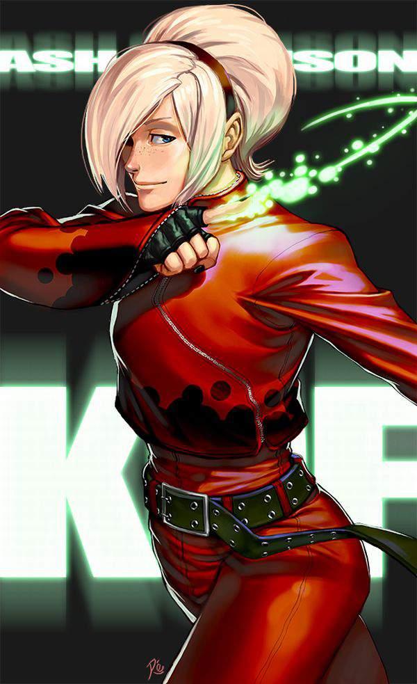 【KOF】アッシュ・クリムゾン(Ash Crimson)のエロ画像【THE KING OF FIGHTERS】【39】