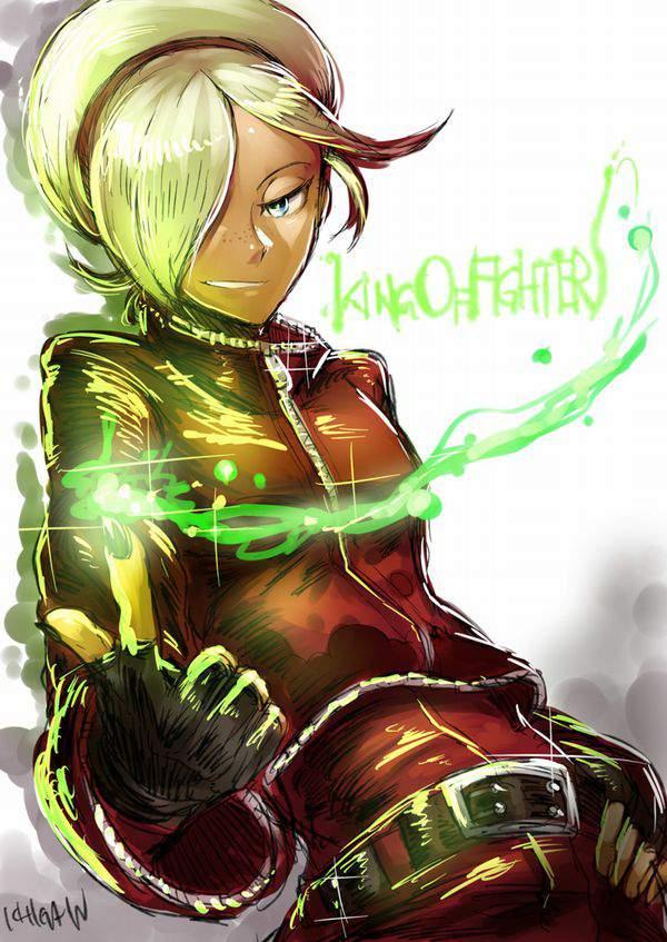 【KOF】アッシュ・クリムゾン(Ash Crimson)のエロ画像【THE KING OF FIGHTERS】【47】