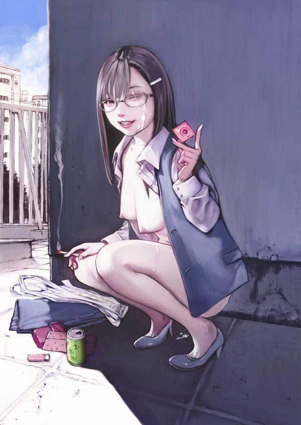 【恐怖】コンドームに針で穴を開けて妊娠を目論む女子達の二次エロ画像【13】