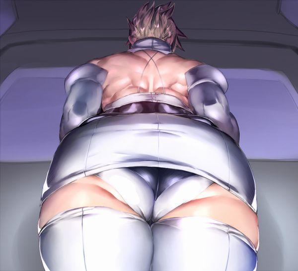 【背中に鬼神が宿ってる】マッスル女子の背筋を愛でる二次エロ画像【8】