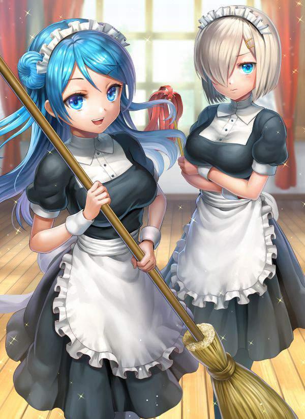 【チラリズムが一杯】清掃活動・掃除に勤しむ女子達の二次エロ画像【25】