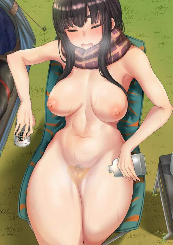 【凍えそうな】裸にマフラー・ストール・スカーフ等を巻いてる女子達の二次エロ画像【季節に君は】