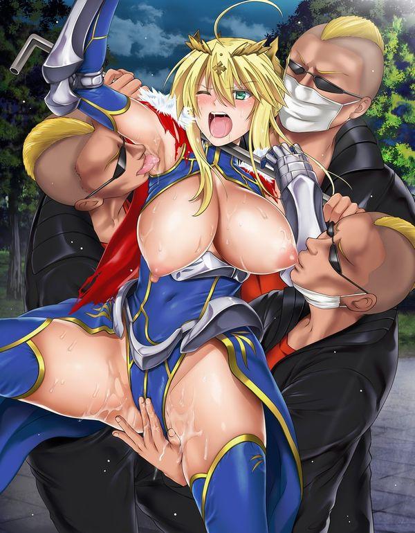【ペロッ…】美少女の腋の下舐めてる二次エロ画像【これは8×4!!!】【1】