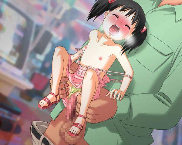 【事案】まだ年齢的にアレな子がレイプされてる二次エロ画像【11】