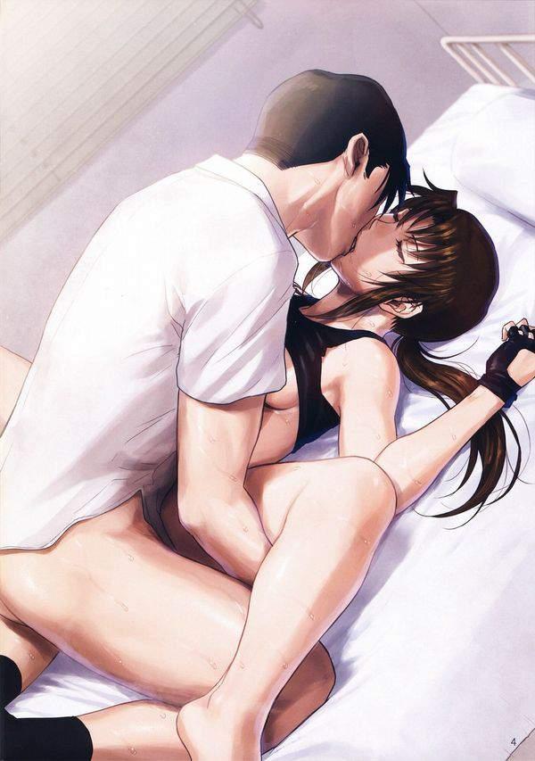 【ラブみが深い】キスしながらセックスしてる二次エロ画像【29】