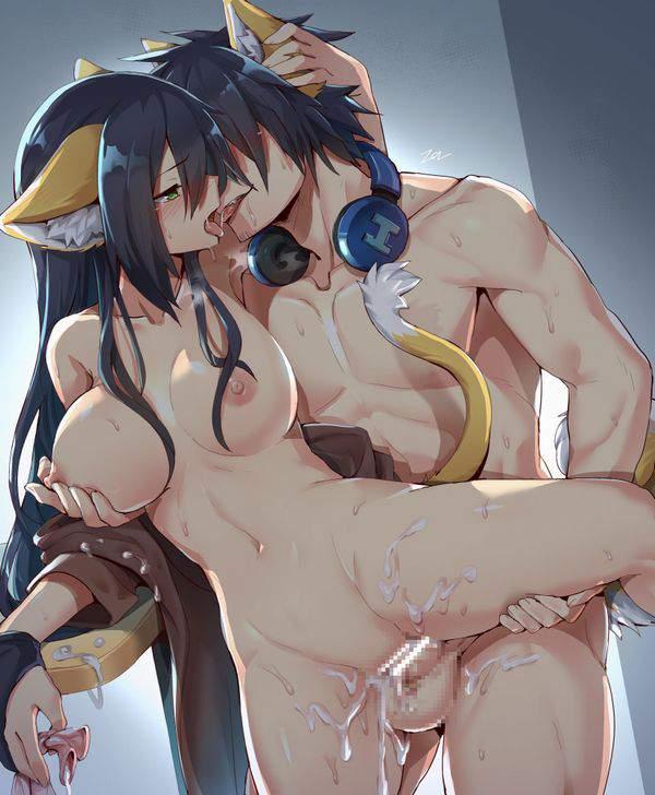 【ラブみが深い】キスしながらセックスしてる二次エロ画像【31】