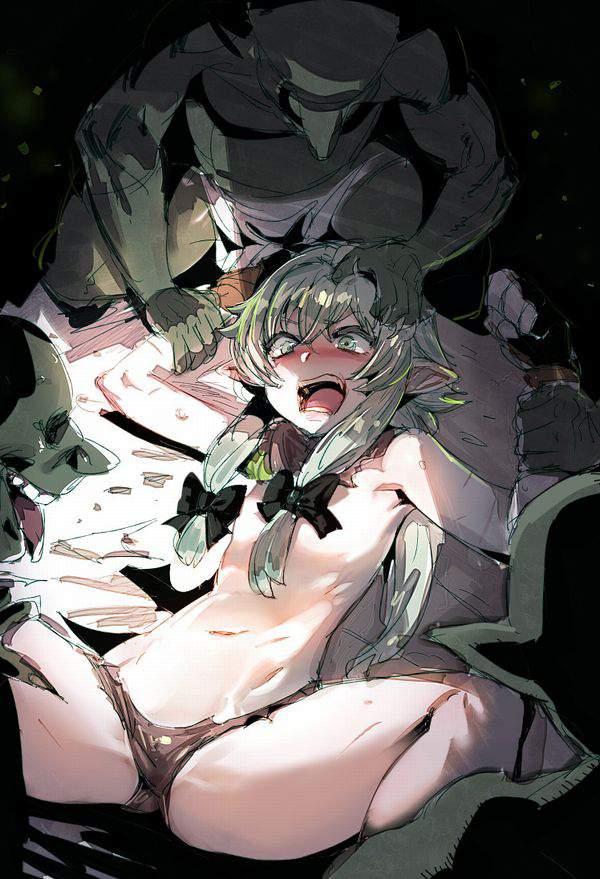 【森のオヤツ】エルフがゴブリンとかオークとかに陵辱・レイプされてる二次エロ画像【25】