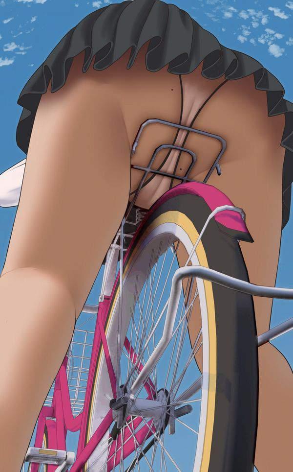 【拭き残しじゃないよ】お尻や肛門周りにホクロがある女子達の二次エロ画像【13】