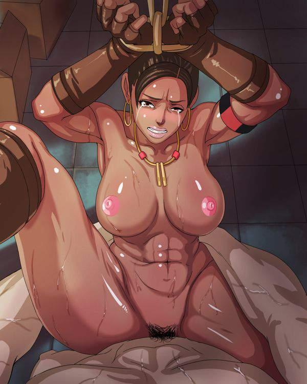 【インドの闇】褐色肌女子がレイプされてる二次エロ画像【25】