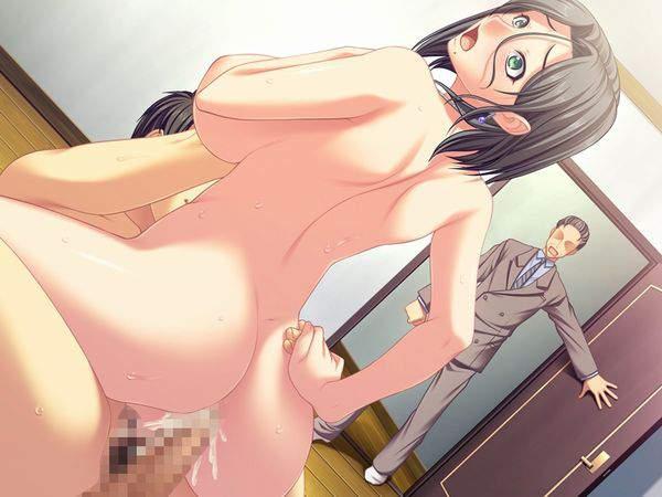 【トラウマ】彼氏の目の前で他の男と楽しそうにセックスしてる二次寝取られエロ画像【32】