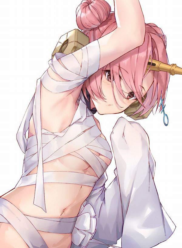 【ミイラ系女子】全裸に包帯な二次エロ画像【3】