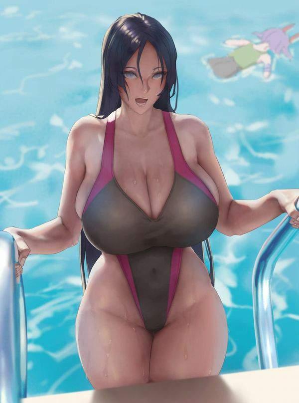 【昭和のかほり】乳デカ熟女の二次エロ画像【34】