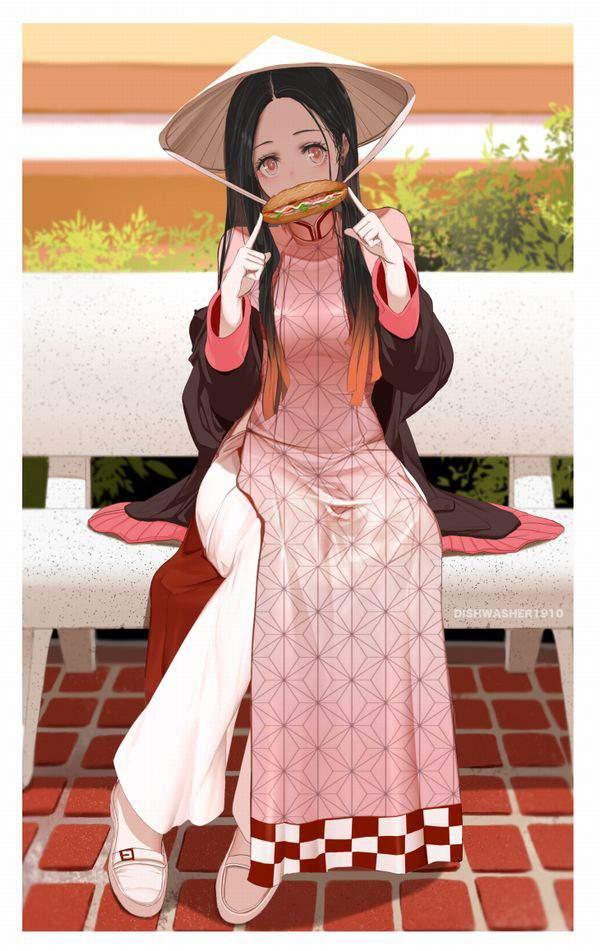 【鬼滅の刃】竈門禰豆子(かまどねずこ)のエロ画像【40】