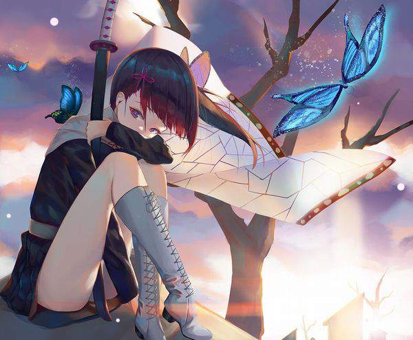 【鬼滅の刃】栗花落カナヲ(つゆりかなを)のエロ画像【23】