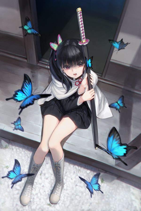 【鬼滅の刃】栗花落カナヲ(つゆりかなを)のエロ画像【45】