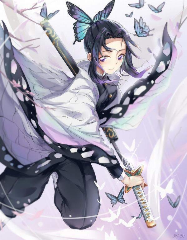 【鬼滅の刃】胡蝶しのぶ(こちょうしのぶ)のエロ画像【28】