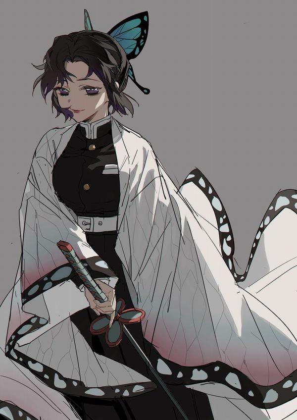 【鬼滅の刃】胡蝶しのぶ(こちょうしのぶ)のエロ画像【34】