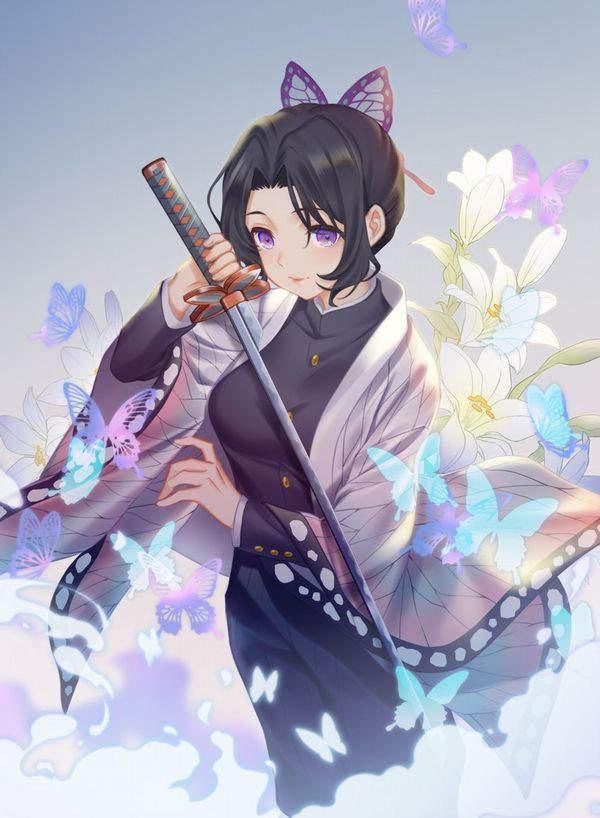 【鬼滅の刃】胡蝶しのぶ(こちょうしのぶ)のエロ画像【39】