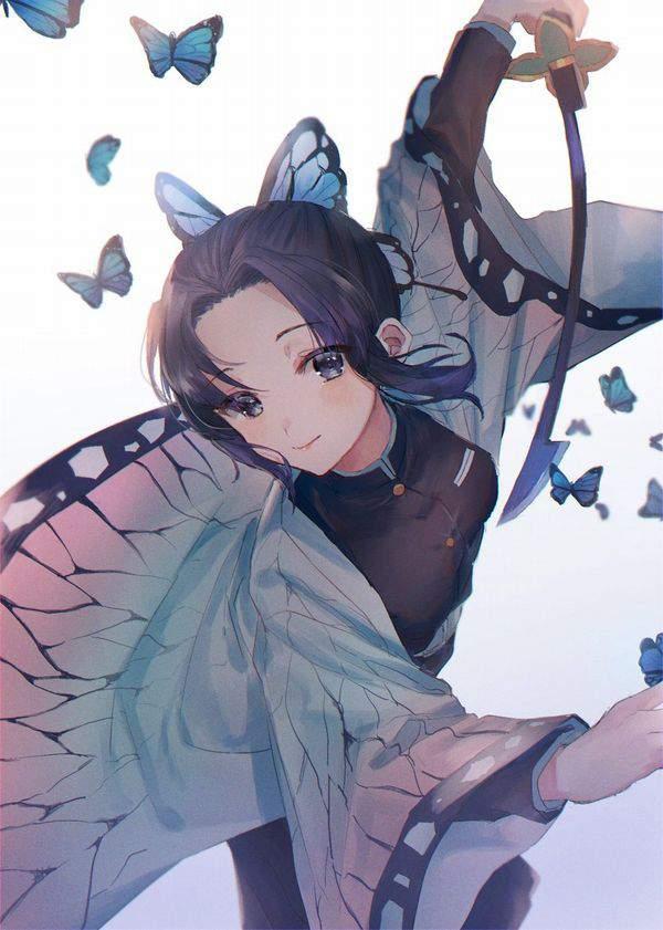 【鬼滅の刃】胡蝶しのぶ(こちょうしのぶ)のエロ画像【40】