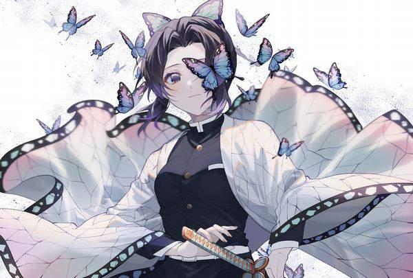【鬼滅の刃】胡蝶しのぶ(こちょうしのぶ)のエロ画像【42】