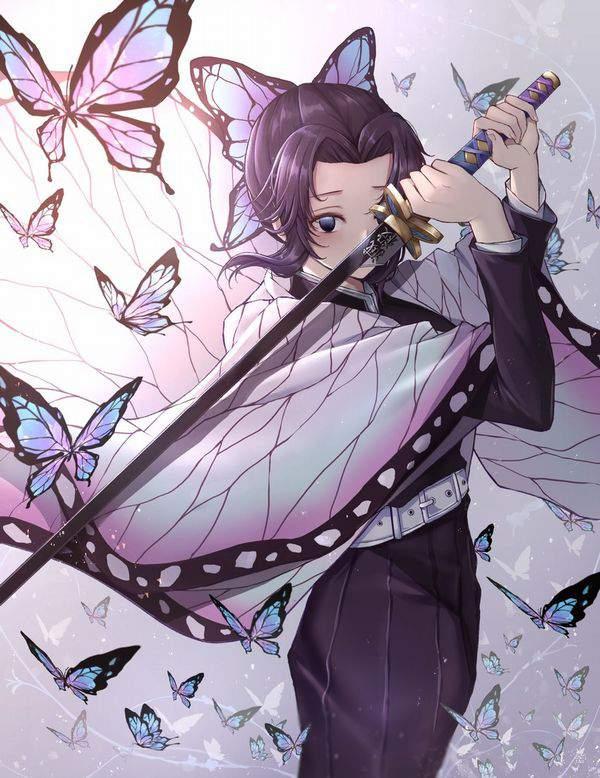 【鬼滅の刃】胡蝶しのぶ(こちょうしのぶ)のエロ画像【46】
