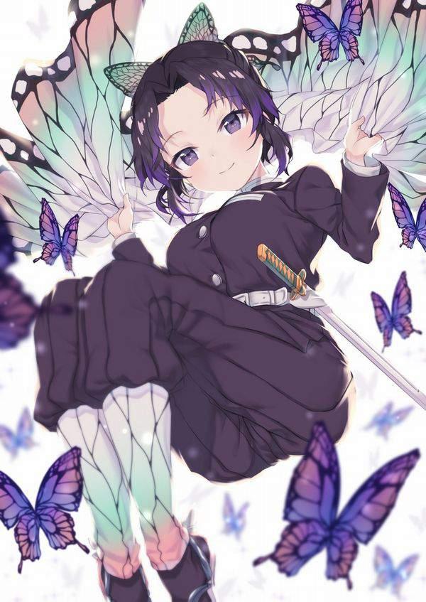 【鬼滅の刃】胡蝶しのぶ(こちょうしのぶ)のエロ画像【47】