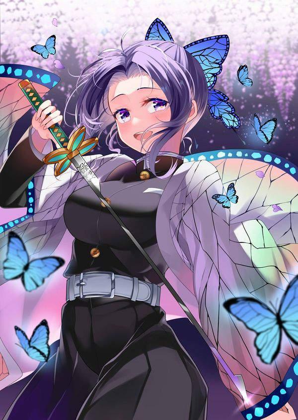 【鬼滅の刃】胡蝶しのぶ(こちょうしのぶ)のエロ画像【50】