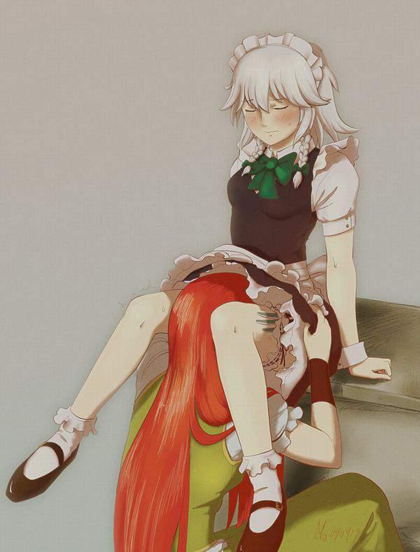 【くさそう】スカートに頭突っ込んでる二次エロ画像【7】