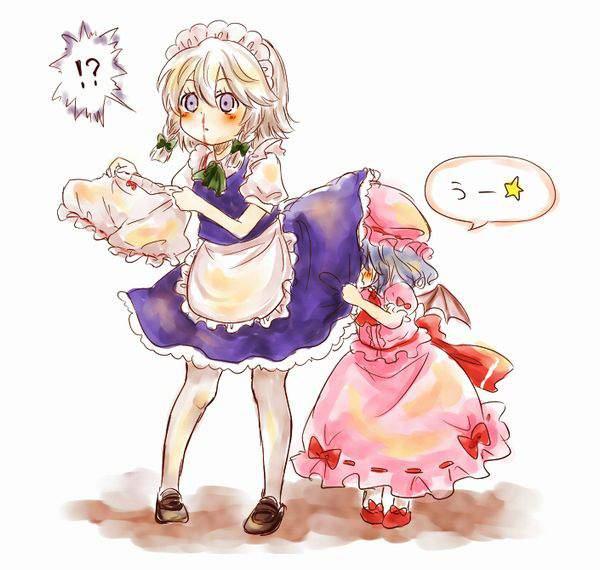 【くさそう】スカートに頭突っ込んでる二次エロ画像【31】