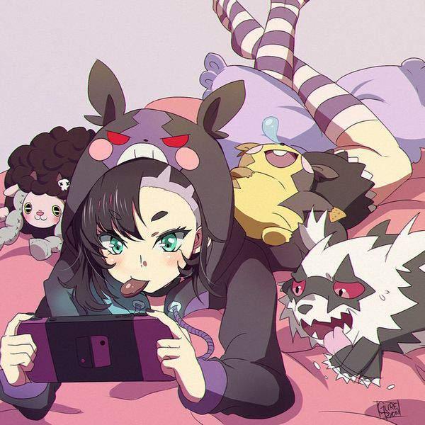 【サンタがくれた】switchで遊ぶ女子達の二次画像【8】