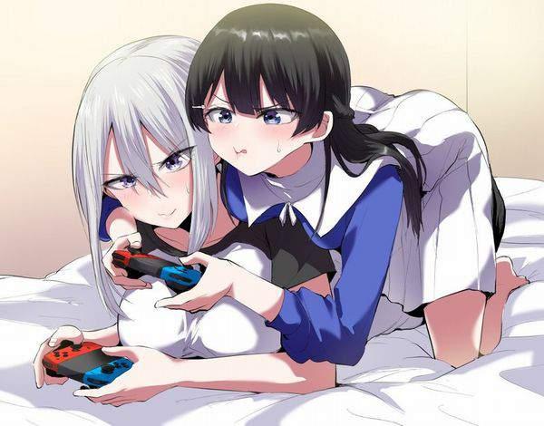 【サンタがくれた】switchで遊ぶ女子達の二次画像【12】
