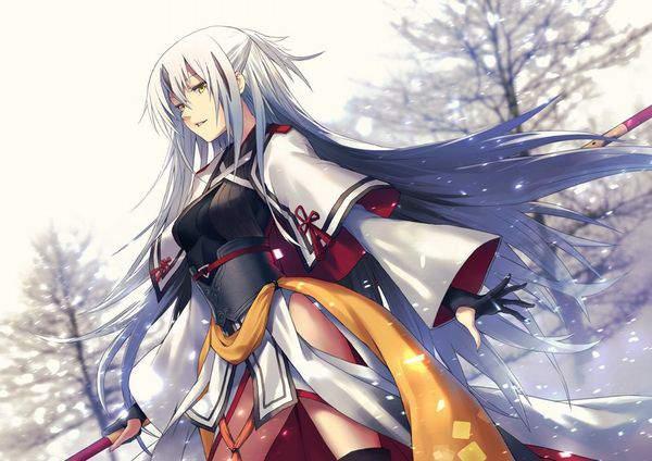 【Fate/GrandOrder】長尾景虎(ながおかげとら)のエロ画像【14】