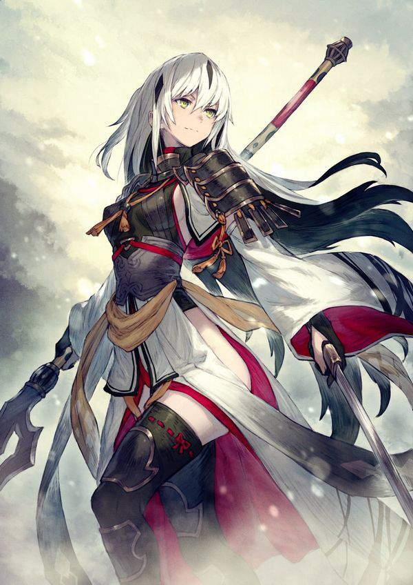 【Fate/GrandOrder】長尾景虎(ながおかげとら)のエロ画像【17】