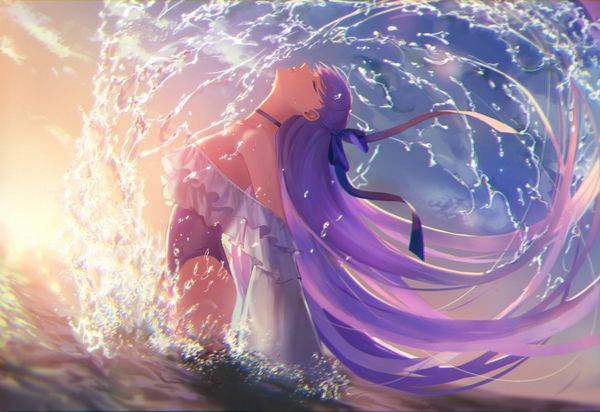 【Fate/GrandOrder】水着メルトリリスのエロ画像【46】